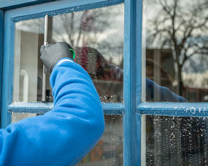 Interiors and Exterior Window Cleaning Service with on-time completion.